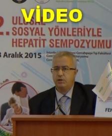 PROF. DR. FEHMİ TABAK'IN SEMPOZYUM KONUŞMASI - VİDEO